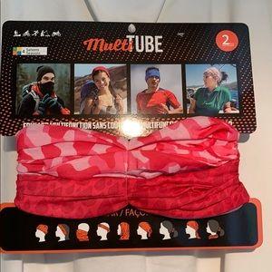 2 pack multi tube face cover